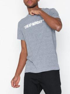 Cheap Monday Standard Tee Cheap Review T-shirts & linnen Grey