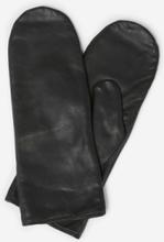 Y.A.S Lädersydda Handskar Kvinna Svart