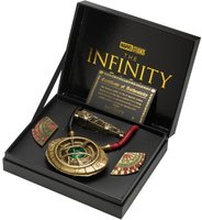 Marvel Doctor Strange Replik-Set in limitierter Auflage - Eye of Agamotto, Levitation Cloak Pins and Sling Ring