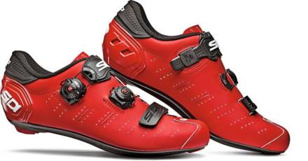 Sidi Ergo 5 Carbon Miehet kengät , punainen 2019 EU 44 Maantielukkokengät