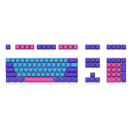 Mechanical Keyboard Keycap Akko X Ducky Joker 108 Key OEM Profile PBT Keycap Keycaps Set for Mechanical Keyboard