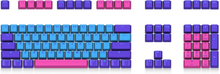 Mechanical Keyboard Keycap Akko X Ducky Queen 108 Key OEM Profile PBT Keycap Keycaps Set for Mechanical Keyboard