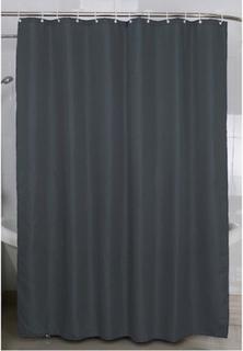 Duschdraperi 180x200cm, grå