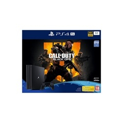 Sony Playstation 4 Pro 1TB + Call Of Duty Black OPS 4