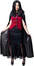 Dräkt, vampyra Halloween