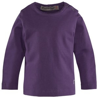 Minymo T-shirt Deep Purple 68 cm (4-6 mån)