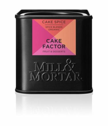 Mill & Mortar Cake Factor ØKO 50 g