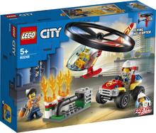 Lego City - Brannvesenets Utrykningshelikopter