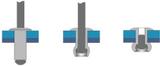 Blindnit Bralo S1010004810 (ØxL) 4.8 mmx10 mm Stål