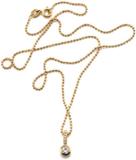 Diamond Star Pendant - Vitt guld med diamanter, 42