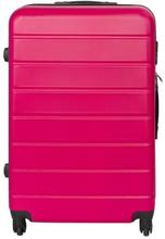 Stor kuffert - Pink hardcase kuffert - Eksklusiv rejsekuffert