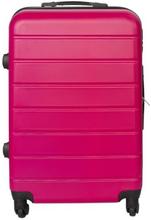 Mellem kuffert - Pink hardcase kuffert - Eksklusiv rejsekuffert