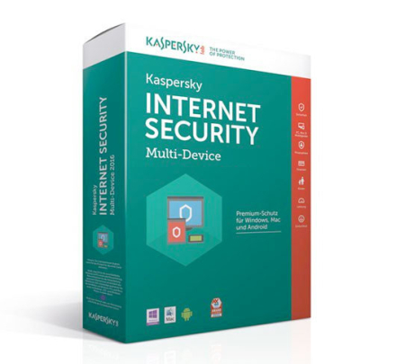 Kaspersky Internet Security Multi-Device 2019 - 2 enheder / 1 år