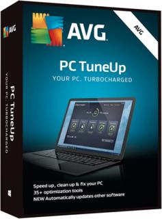 AVG PC TuneUp 2019 - 1 PC / 1 år