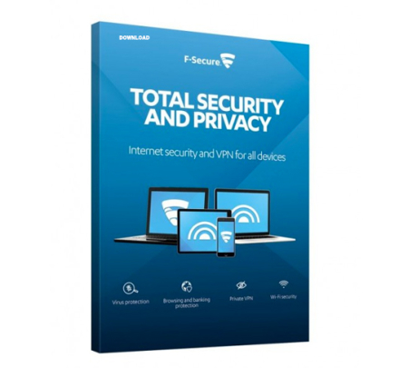 F-Secure Total Security and Privacy 2019 - 5 enheter