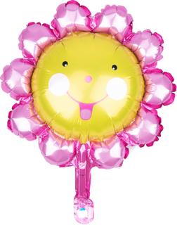 BasicsHome Folie Figur Ballon Mini Solsikke 1 stk