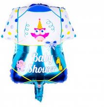 BasicsHome Folie Figur Ballon Blå Baby Shower 1 stk