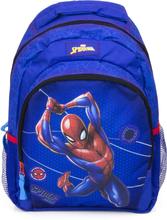 Spiderman skoletaske/rygsæk, blå 42 x 30 x 15 cm