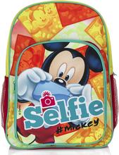 Mickey Mouse skoletaske/rygsæk, 42x30x11 cm