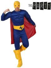 Kostume til voksne Th3 Party Muskuløs helt XS/S