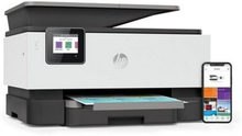 Multifunktionsprinter HP Officejet Pro 9010 AIO 22 ppm WIFI Fax Hvid
