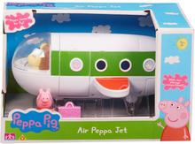Peppa Gris Flysett med 2 figurer