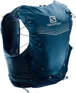 Salomon Advanced Skin 12 Set treningsryggsekker Blå S