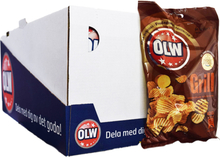 Hel Låda Chips Grill 20 x 40g - 50% rabatt