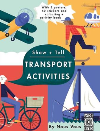 Transport Activities by Vous Nous 23.30 cm x 0.60 cm x 0.60 cm