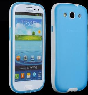 NewLine (Blå) Samsung Galaxy S3 Deksel