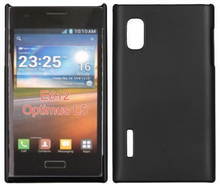 Hard Shell (Sort) LG Optimus L5 E610 Deksel