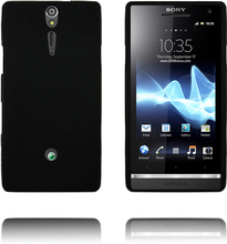 Exclamation Mark Soft Shell (Sort) Sony Xperia S Deksel