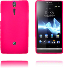 Exclamation Mark Soft Shell (Hot Rosa) Sony Xperia S Deksel