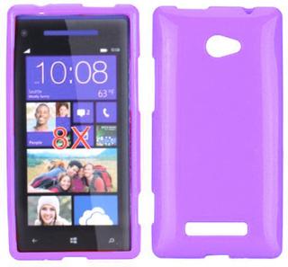 GlitterShell (Lys Lilla) HTC 8X Deksel