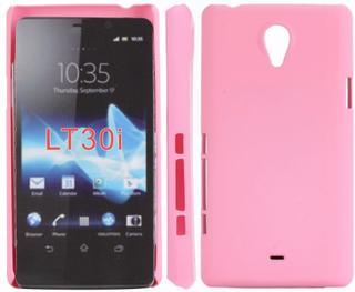Hard Shell (Lyserosa) Sony Xperia T Deksel