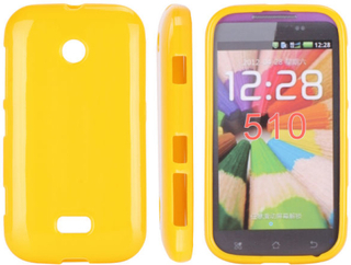Candy Colors (Gul) Nokia Lumia 510 Deksel