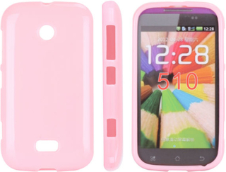 Candy Colors (Lyserosa) Nokia Lumia 510 Deksel