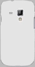 Hard Shell (Hvit) Samsung Galaxy Trend Deksel
