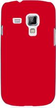 Hard Shell (Rød) Samsung Galaxy S Duos Deksel