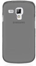 Soft Shell Transparent (Brun) Samsung Galaxy Trend Deksel