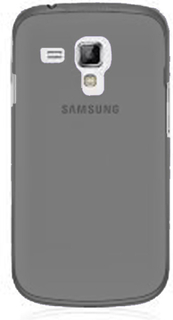 Soft Shell Transparent (Brun) Samsung Galaxy Trend Deksel