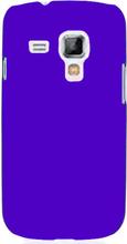 Hard Shell (Blå) Samsung Galaxy Trend Deksel