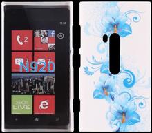 Valentine (Blå Blomst) Nokia Lumia 920 Deksel