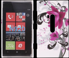 Valentine (Lilla Blomst) Nokia Lumia 920 Deksel