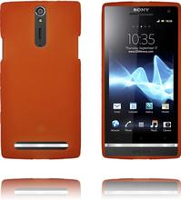 OneLine Soft Shell (Oransje) Sony Xperia S Deksel