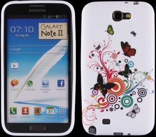 Symphony (Diverse Sirkler & Sommerfugler) Samsung Galaxy Note 2 Deksel