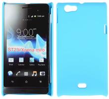 Hard Shell (Lyse Blå) Sony Xperia Miro Deksel