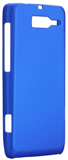 Hard Shell (Blå) Motorola DROID RAZR M Deksel