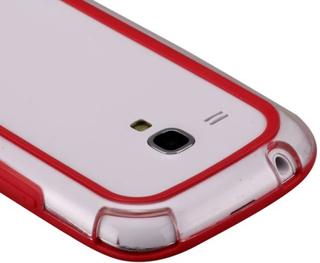 Ultra Slim (Rød) Samsung Galaxy S3 Mini Bumper