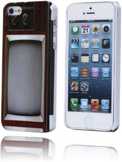 Retro TV (Svart) iPhone 5 Deksel